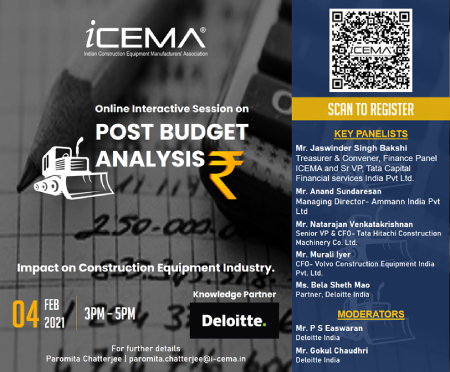 Online Interactive Session on Post Budget Analysis